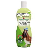ESPREE (Эспри) Tea Tree & Aloe Shampoo - Шампунь с маслом чайного дерева и алоэ вера, при сухости кожи для собак