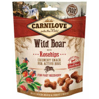 Carnilove (Карнилав) Dog Crunchy Snack Wild Boar With Rosehips - Лакомство с диким кабаном и шиповником для восстановления собак